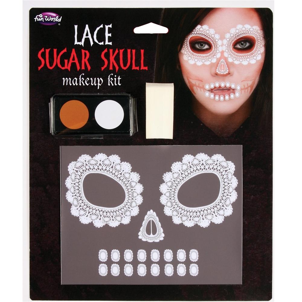 Lace Sugar Skull Makeup Kit 5512CSS