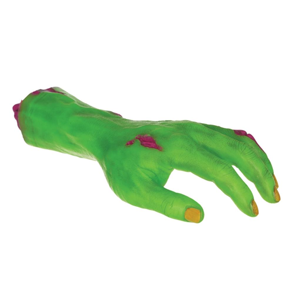Neon Zombie Hand