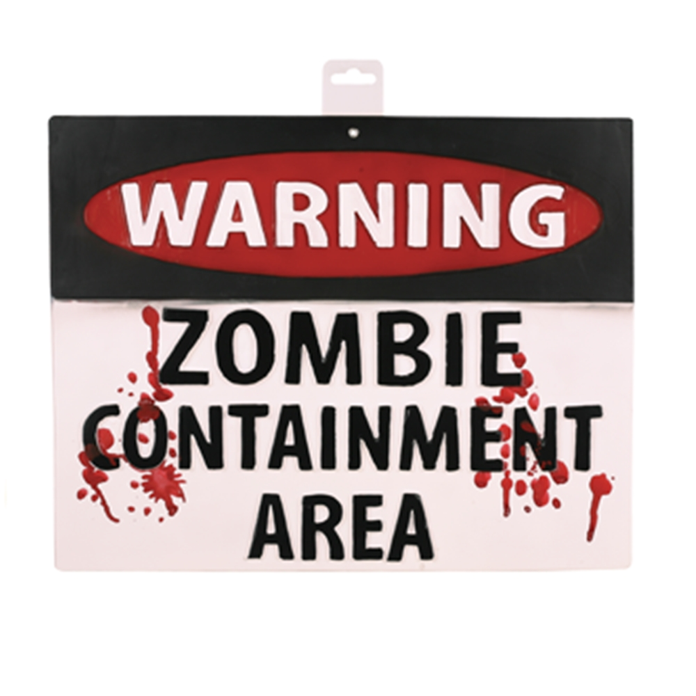 Zombie Warning Sign (More Styles)