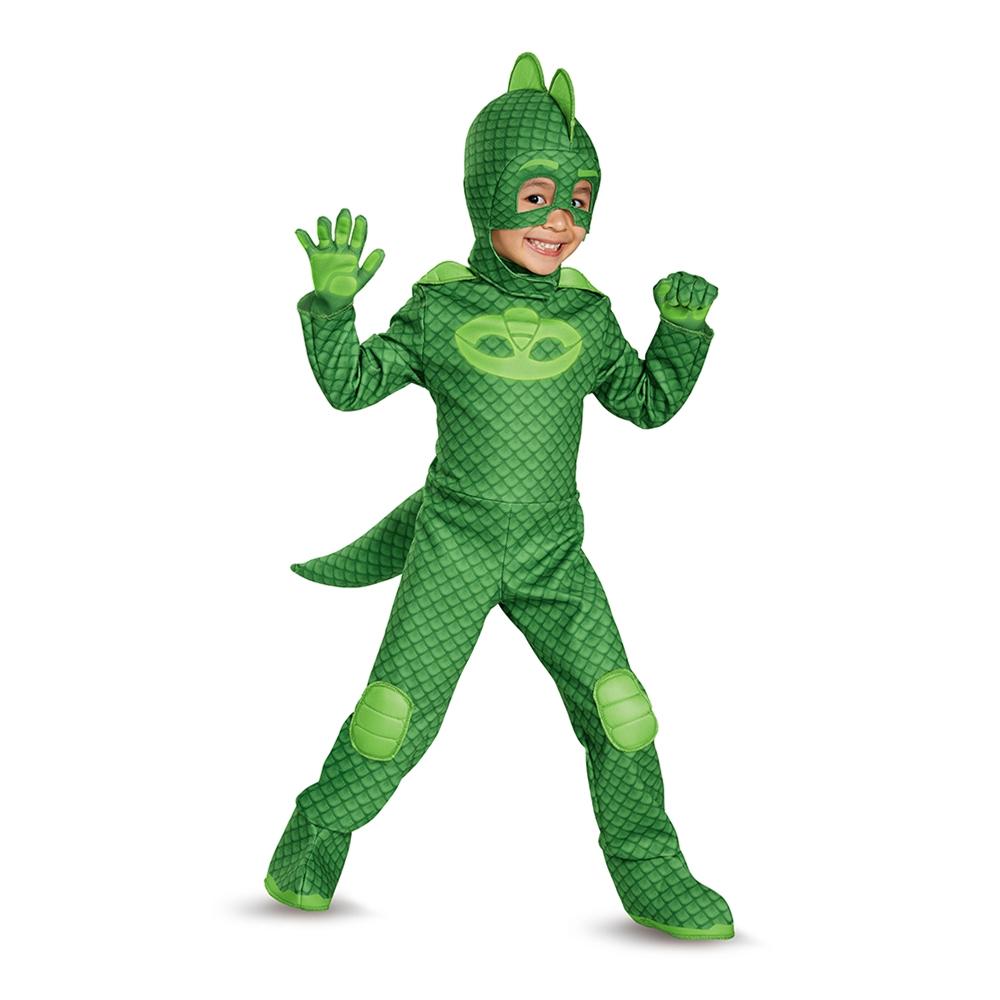 PJ Masks Deluxe Gekko Toddler Costume