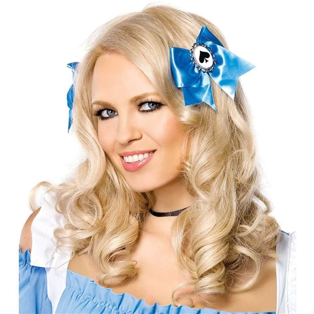 Blue Alice Hair Bows