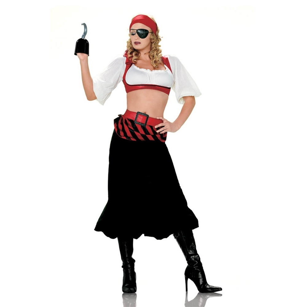 Www Halloween Decorating Ideas: Scurvy Pirate First Mate Adult Womens Costume
