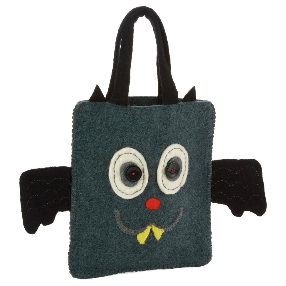 You can buy the Halloween Trick or Treat Wool Tote Bag here
