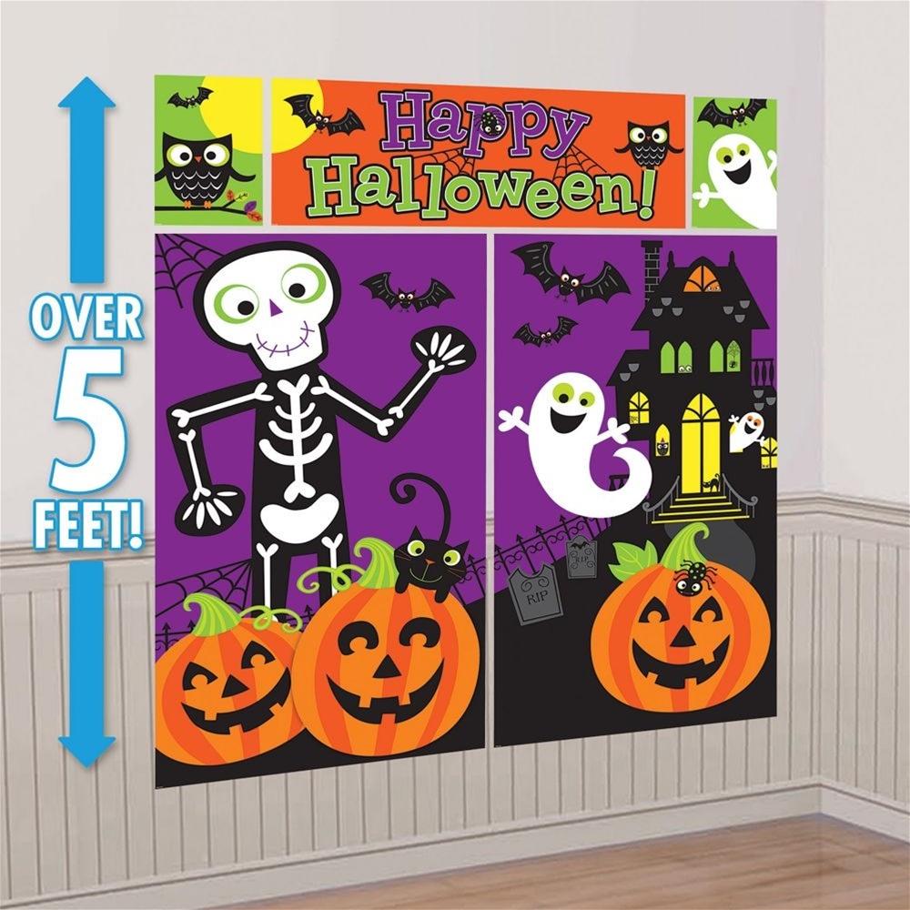 Family Friendly Halloween Scene Setter Decoration Kit