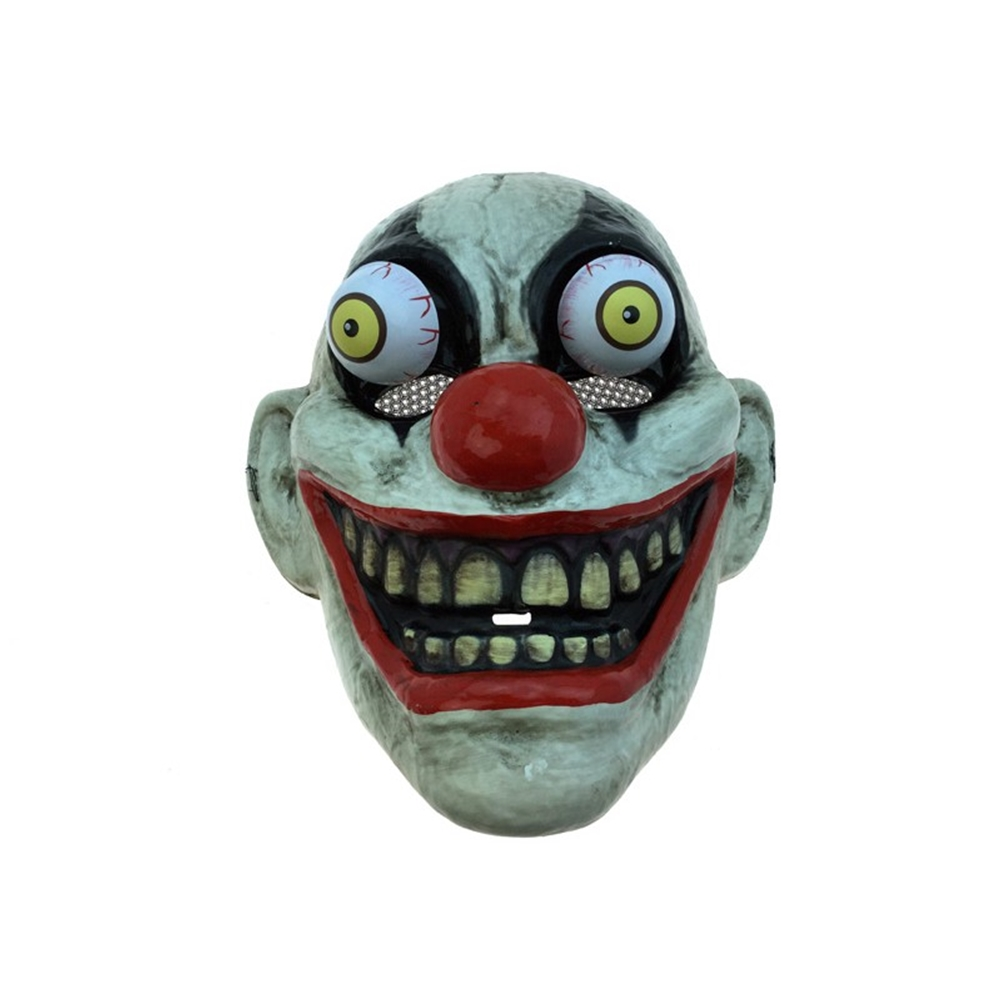 how to make a clown mask at home