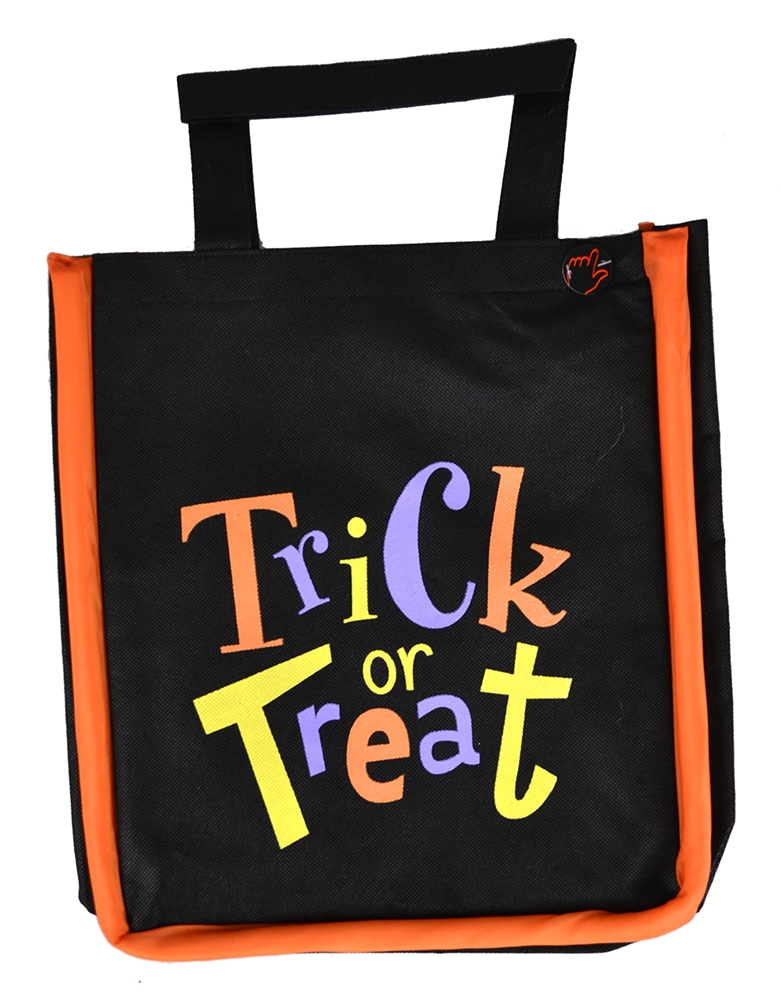 You can buy the Trick or Treat Flashing Bag here