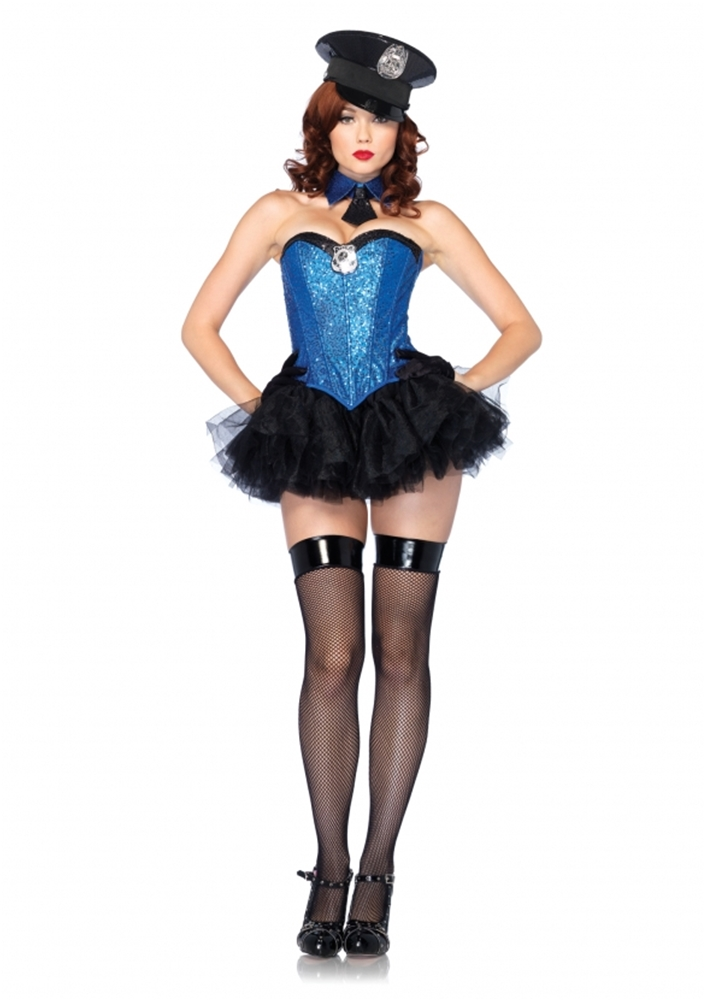 Captivating Cop Adult Womens Costume