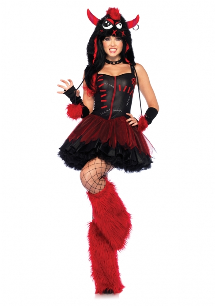 Rebel Monster Adult Womens Costume