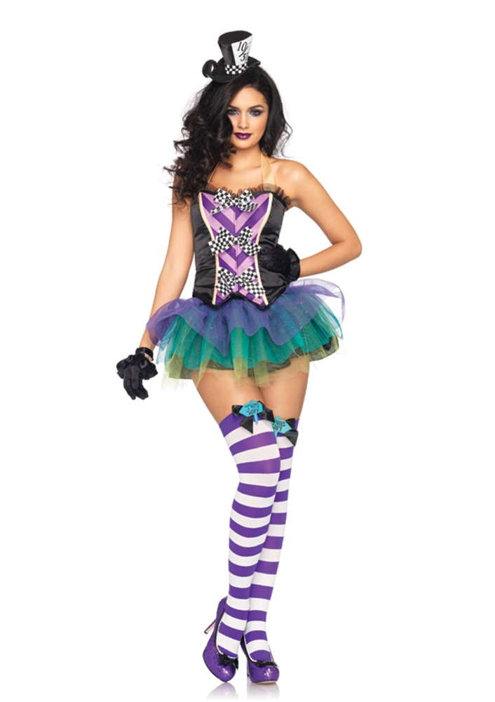 Tempting Mad Hatter Adult Womens Costume