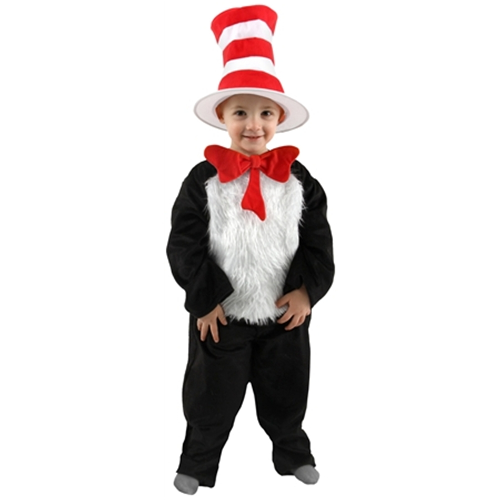 Dr. Seuss Cat in the Hat Toddler Costume by Elope
