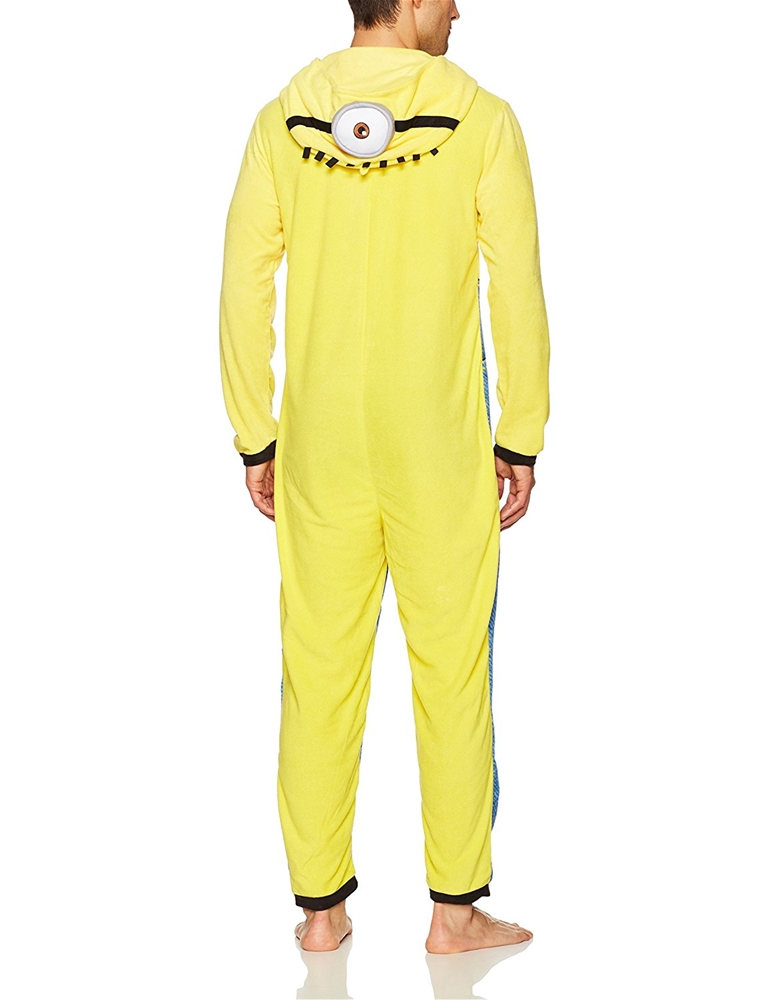 7750f995037d Minion Man Adult Mens Onesie - 397558