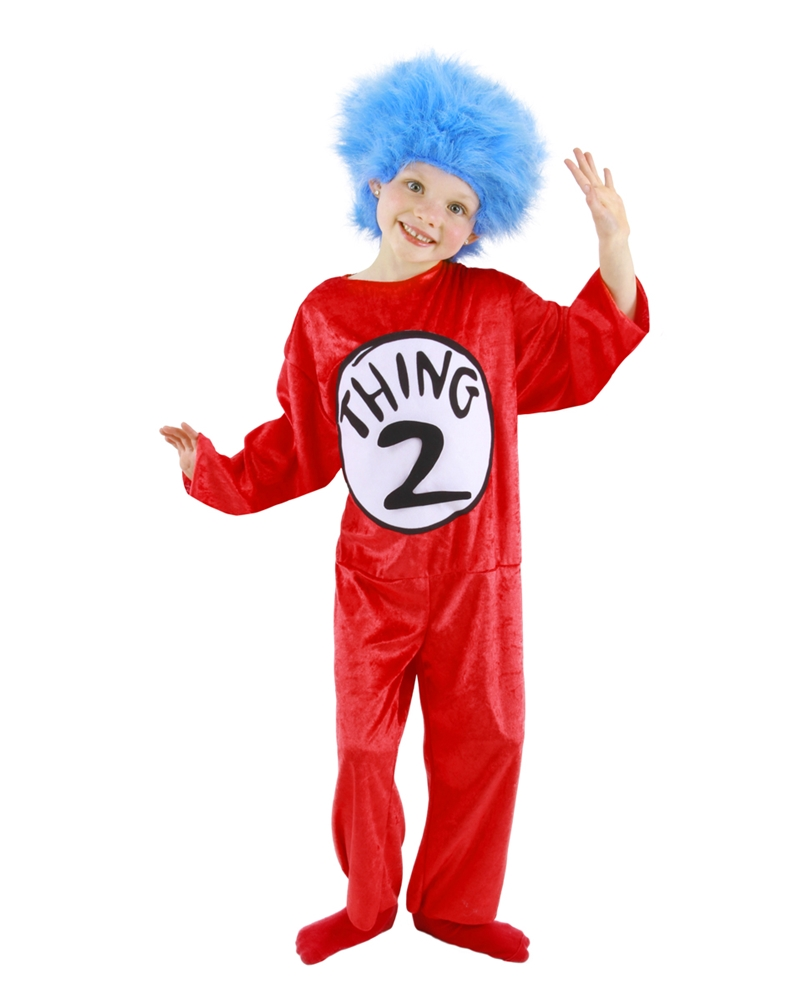 Dr. Seuss Thing 1 & 2 Child Costume (Thing 1 And 2 Costumes)