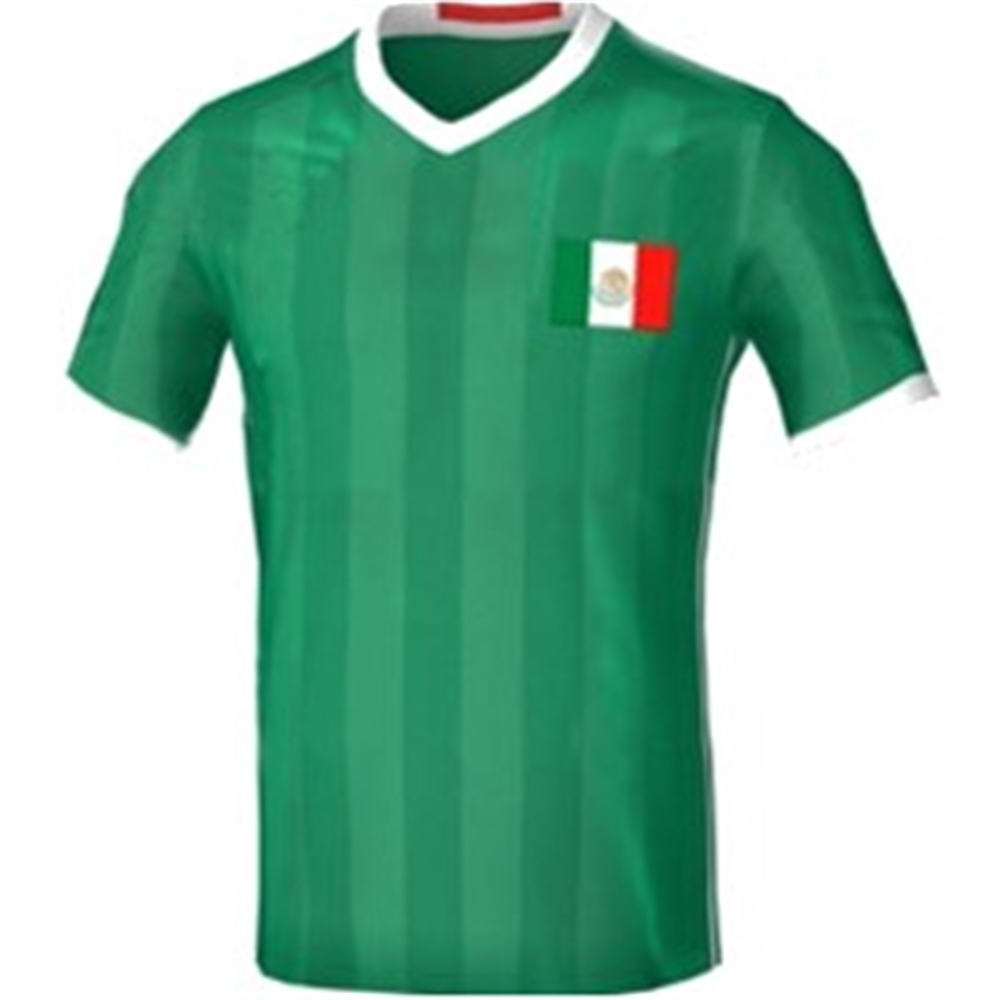 Mexico Adult Soccer Jersey