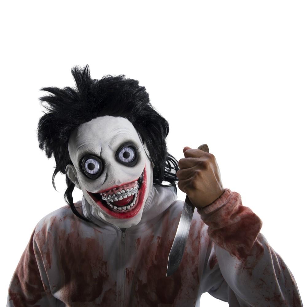Www Halloween Decorating Ideas: Creepypasta Go To Sleep Adult Latex Mask