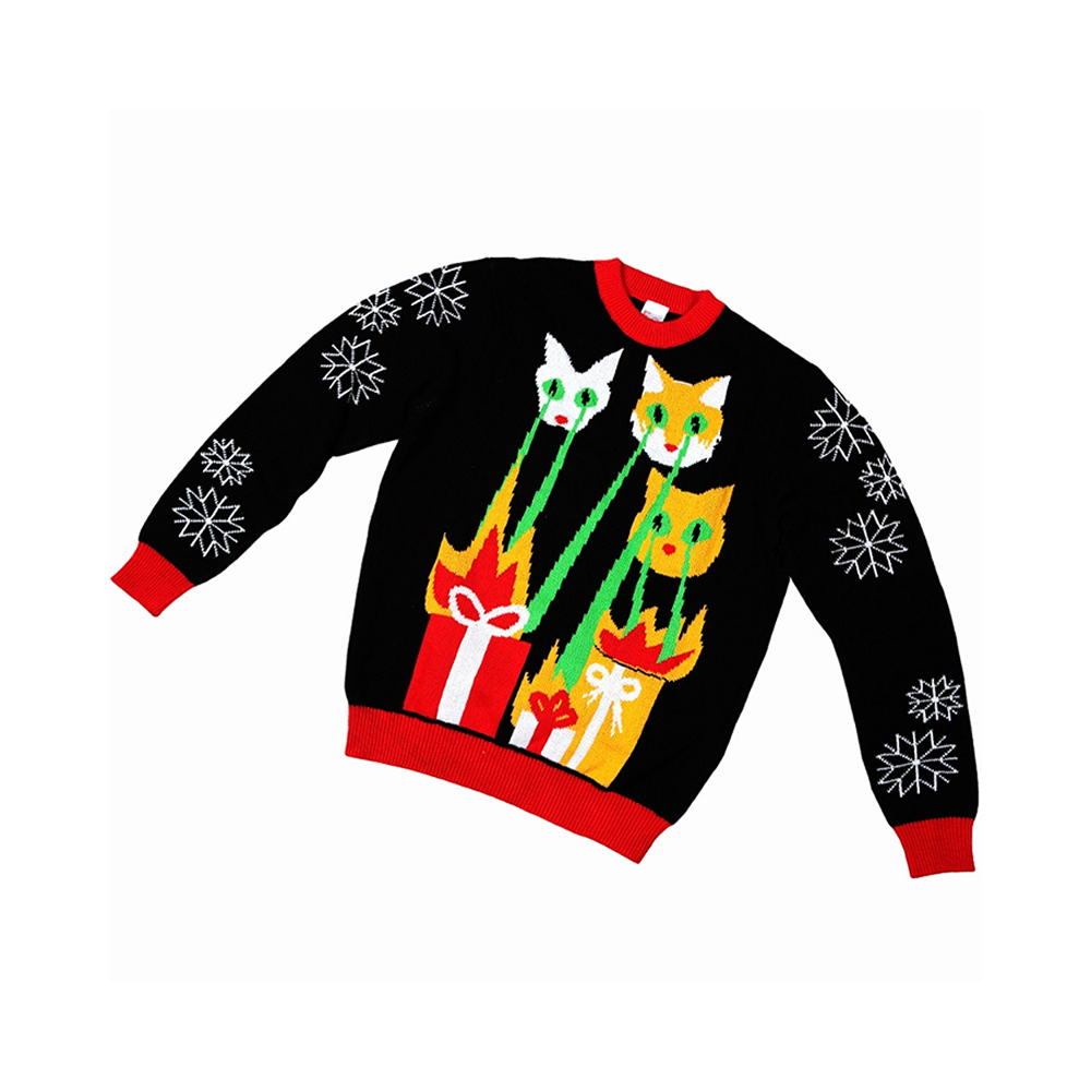 a4de6b3d9363c Laser Cat-Zillas Child Ugly Christmas Sweater - 408139 ...