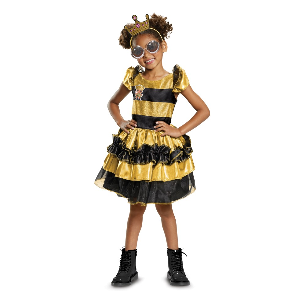 L.O.L. Surprise Doll Deluxe Queen Bee Child Costume
