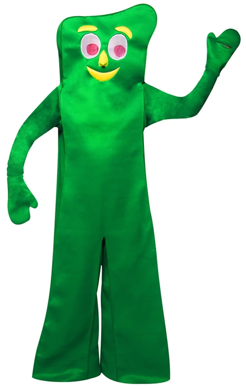 Gumby Adult Deluxe Costume