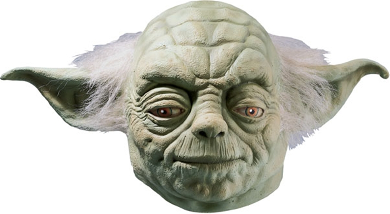 Star Wars Yoda Deluxe Latex Adult Mask
