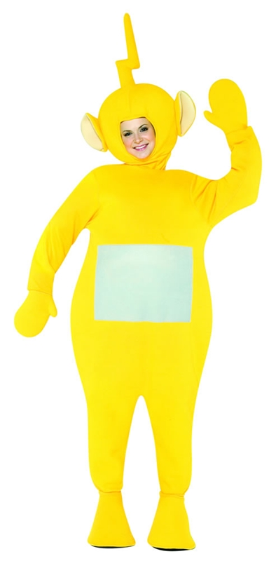Teletubbies La La Adult Costume