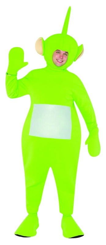 Teletubbies Dipsy Adult Green Costume
