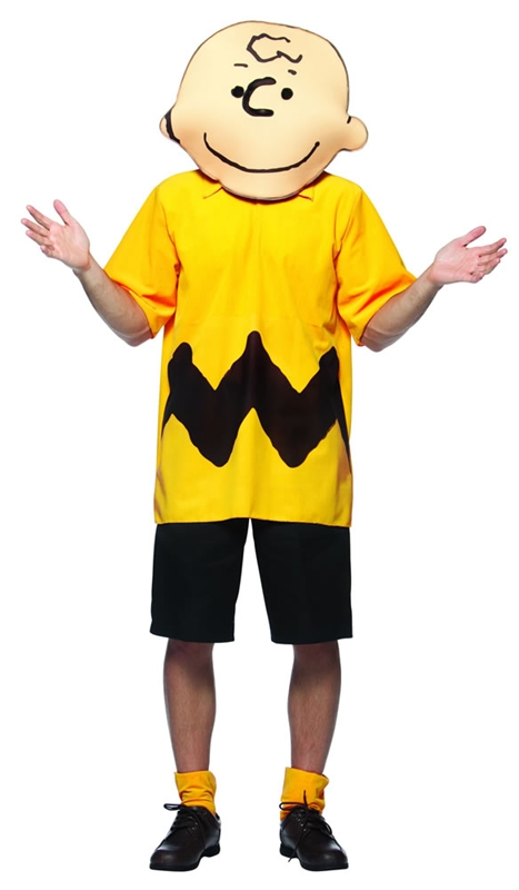 Charlie Brown Peanuts Adult Mens Costume