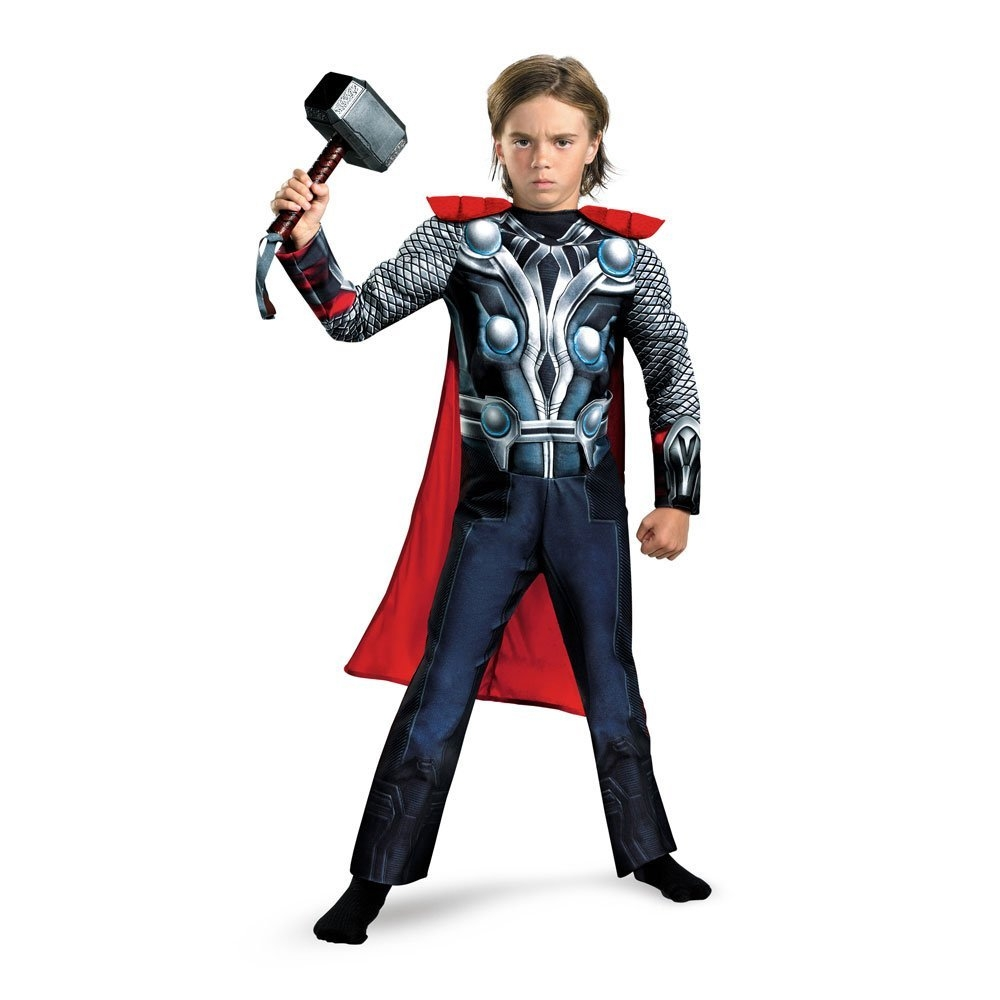Thor Classic Avengers Muscle Child Costume
