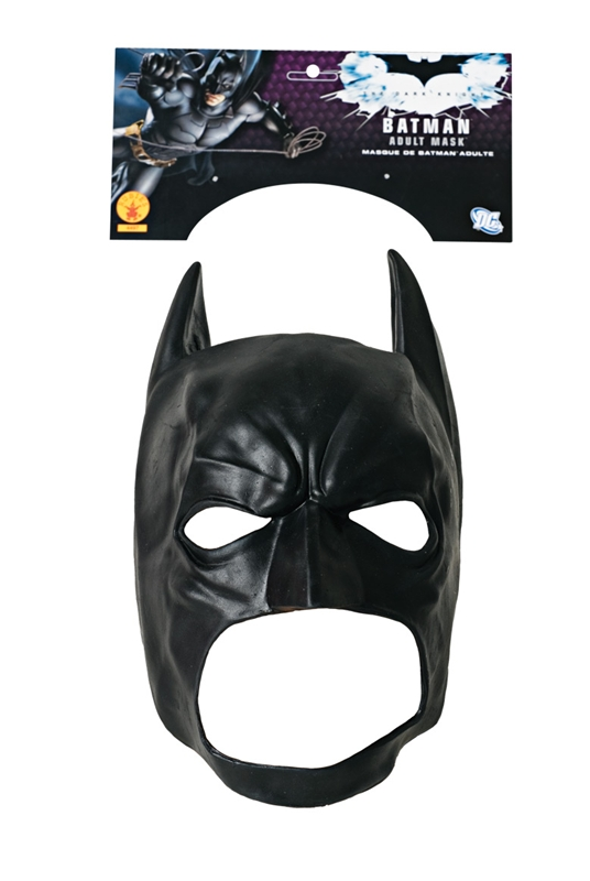 Batman 3/4 Vinyl Adult Mask