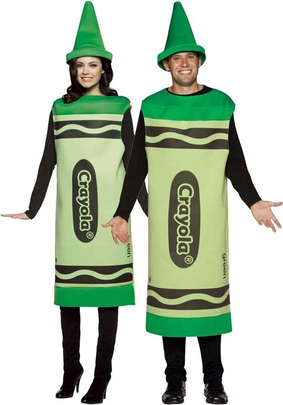 Crayola Deluxe Green Unisex Costume