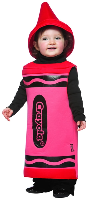 Crayola Red Toddler Costume
