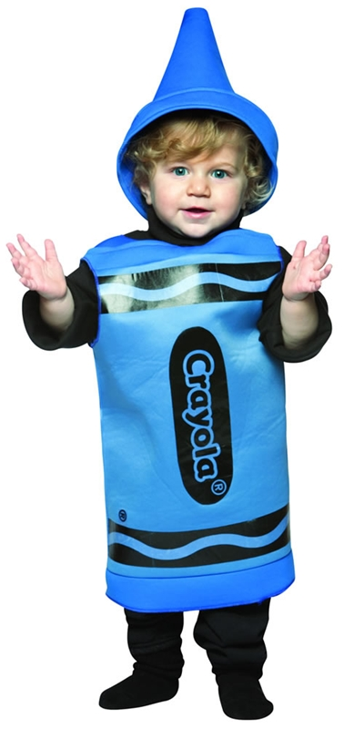 Crayola Blue Toddler Costume by Rasta Imposta