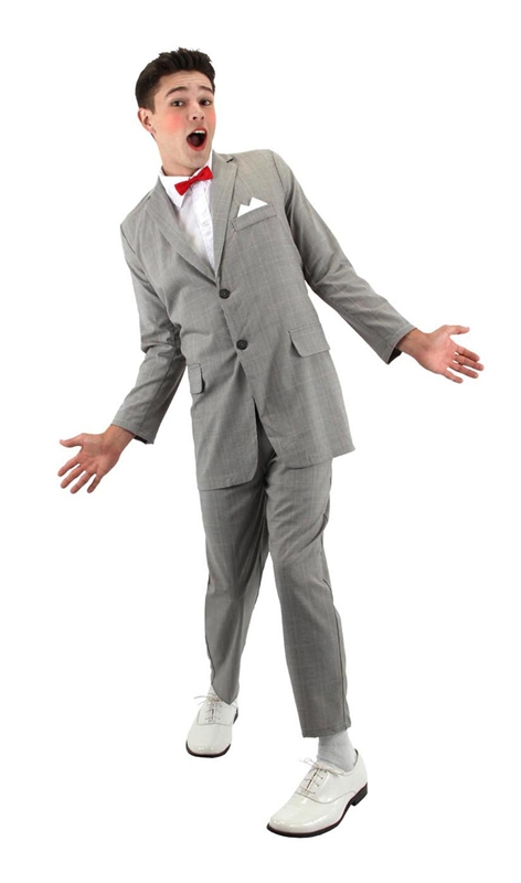 Pee Wee Herman Adult Mens Costume