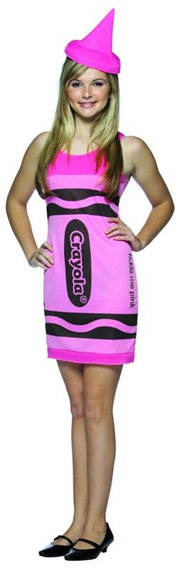 Crayola Dress Teen Pink Costume