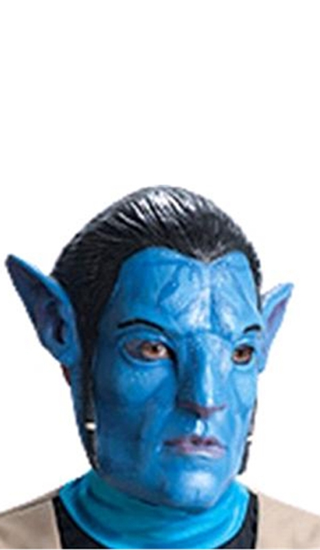 Avatar Jake Sully 3/4 Vinyl Adult Mask (Avatar Masks)