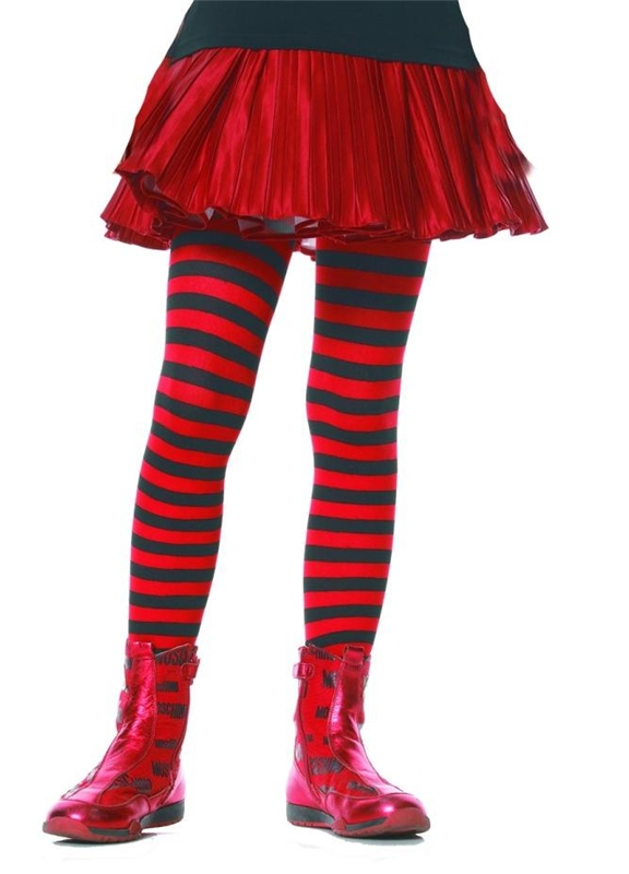 Striped Child Tights by Leg Avenue