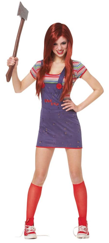 Sassy Seed of Chucky Teen Costume by Franco-American