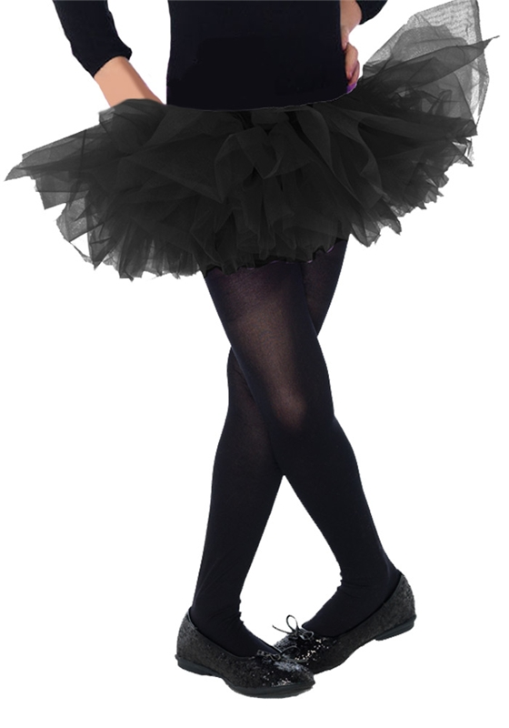 Black Organza Child Tutu