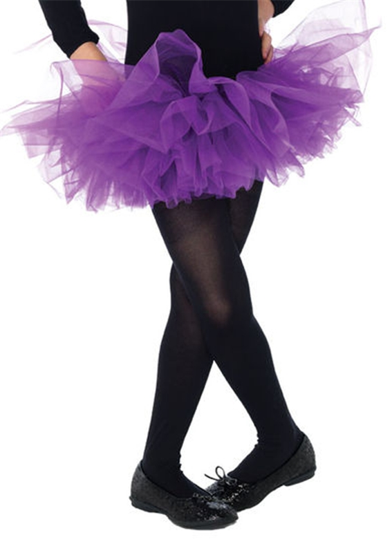 Purple Organza Child Tutu