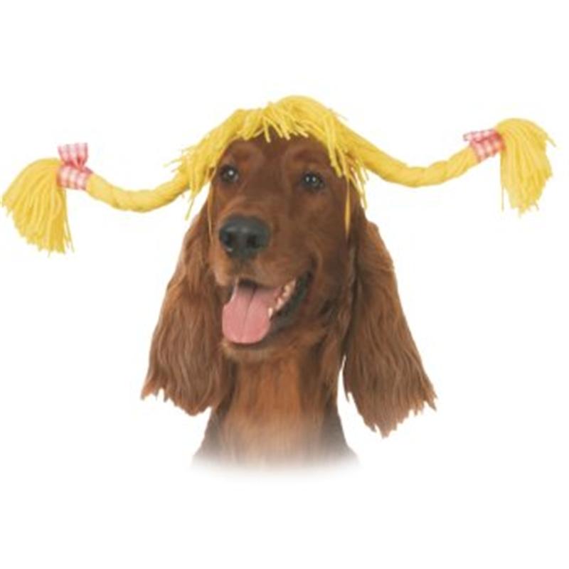 Pig Tails Dog Costume