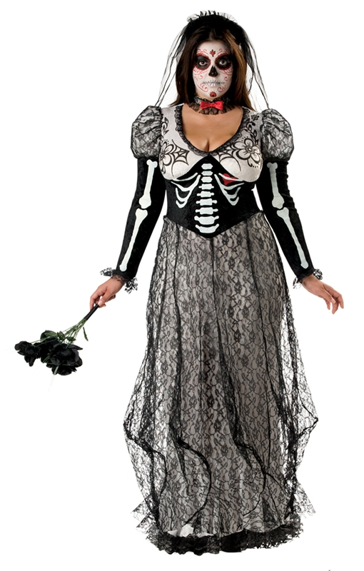Boneyard Bride Plus Size Adult Womens Costume by Incharacter