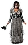 Boneyard Bride Plus Size Adult Womens Costume