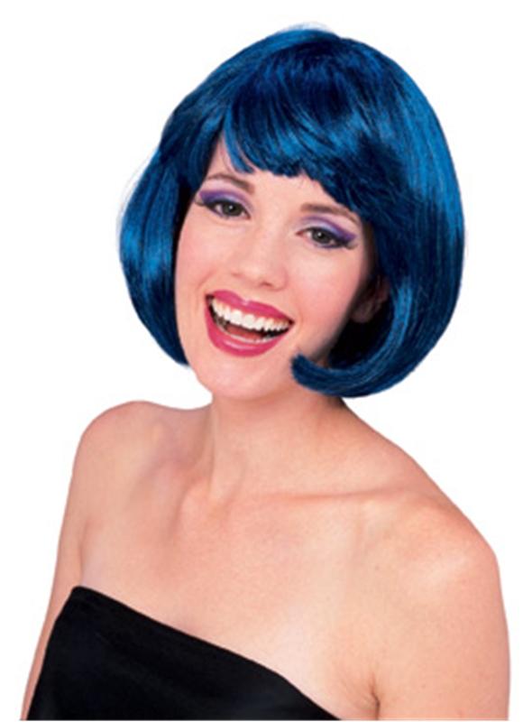 Blue Super Model Wig