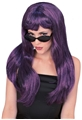Glamour-Purple-Black-Wig