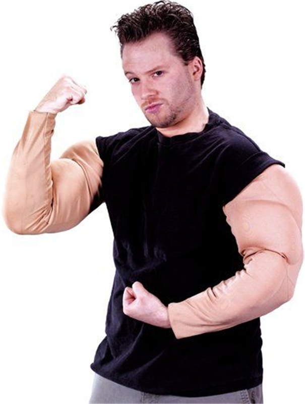 Muscle Arms Adult Costume