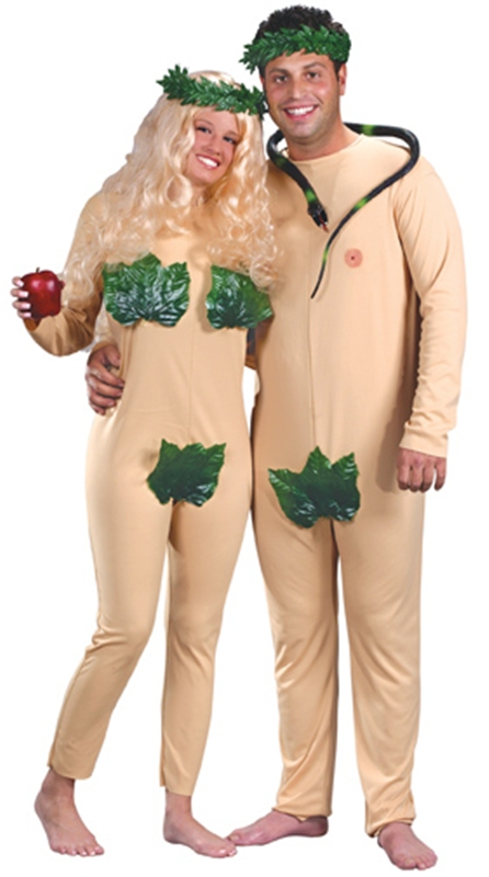 Adam and Eve Adult Costume Set (Adam & Eve Costume)