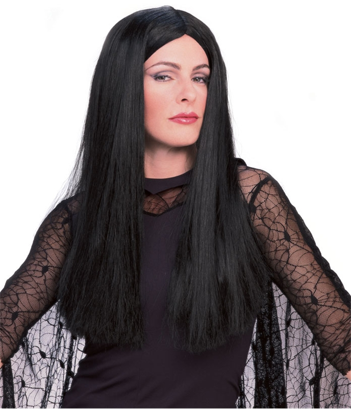 Morticia Adult Wig