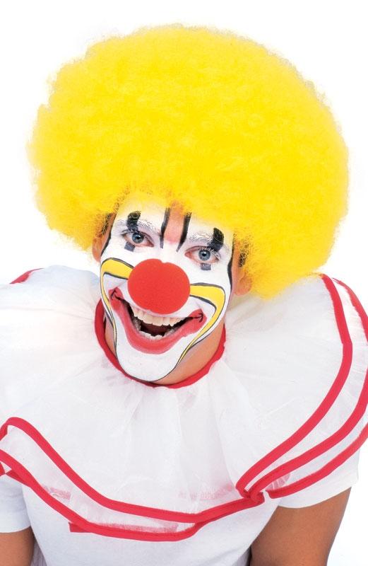 Yellow Clown Wigs 3