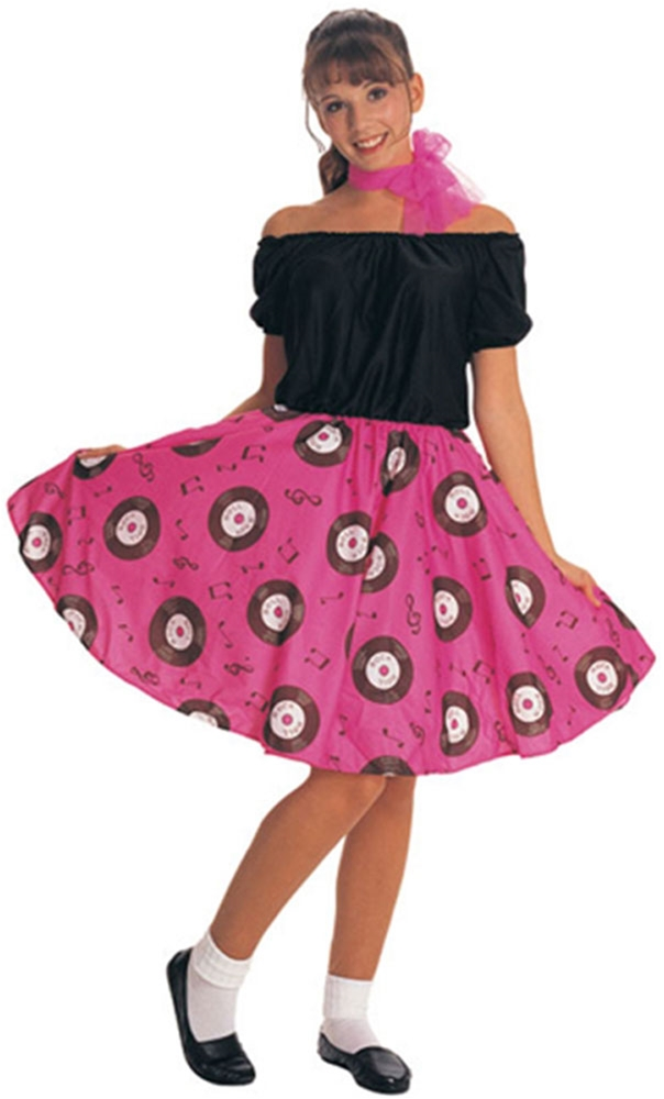 50s Girl Adult Womens Costume (2)