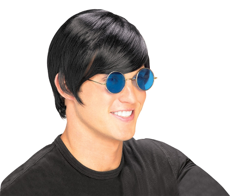 Beatles Rocket Man Black Wig