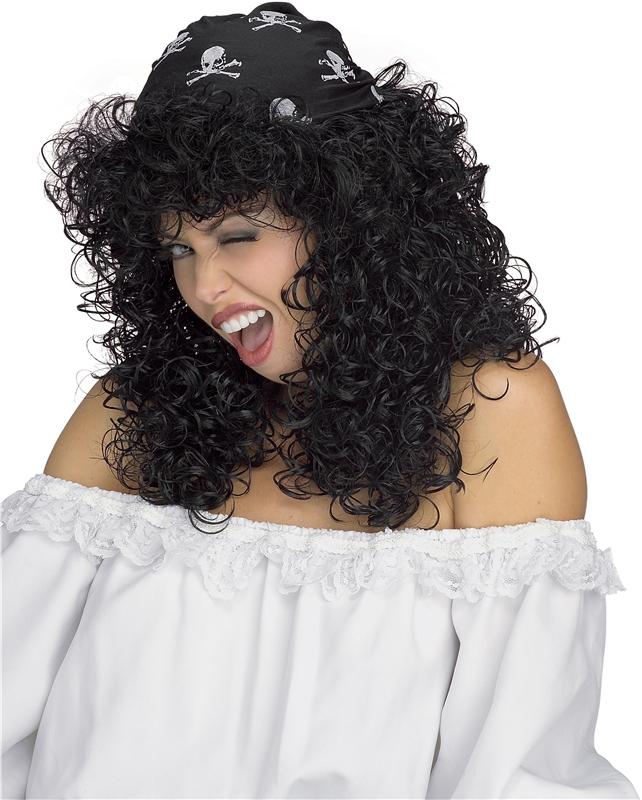 Pirate Sexy Wig Black (Sexy Wig)