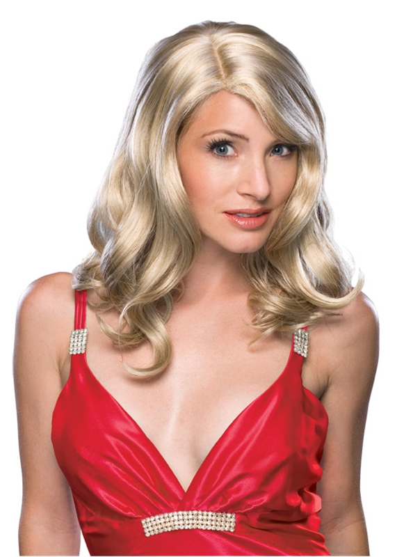 Image of Blonde Miss Martini Wig